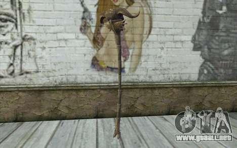 Skull of Corruption from Skyrim para GTA San Andreas segunda pantalla