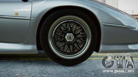 Jaguar XJ220 1992 (EPM) para GTA 4 Vista posterior izquierda