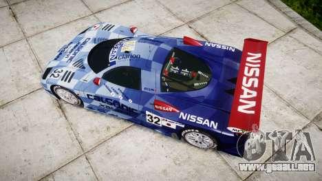 Nissan R390 GT1 1998 para GTA 4 visión correcta