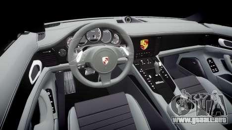 Porsche Panamera GTS 2014 para GTA 4 vista interior