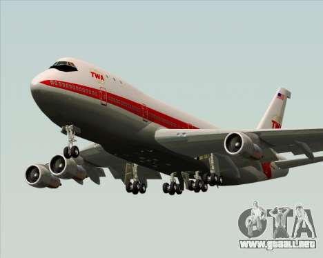 Boeing 747-100 Trans World Airlines (TWA) para el motor de GTA San Andreas