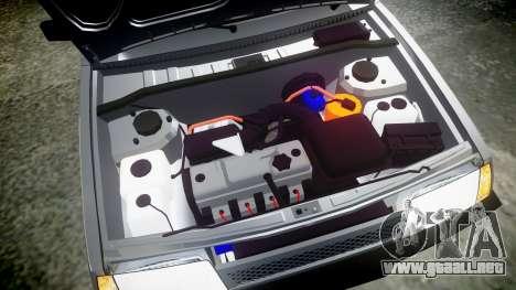 VAZ-2109 Nueve para GTA 4 vista lateral