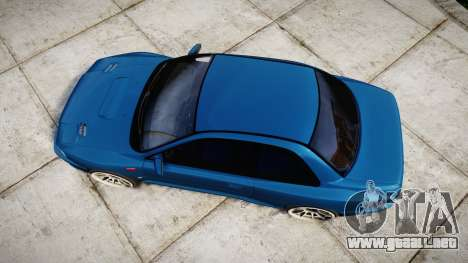 Subaru Impreza 22B Street para GTA 4 visión correcta