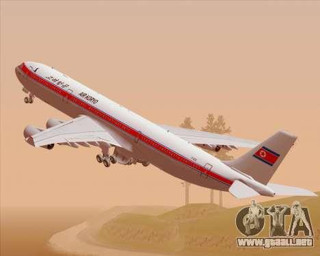 Airbus A340-300 Air Koryo para GTA San Andreas