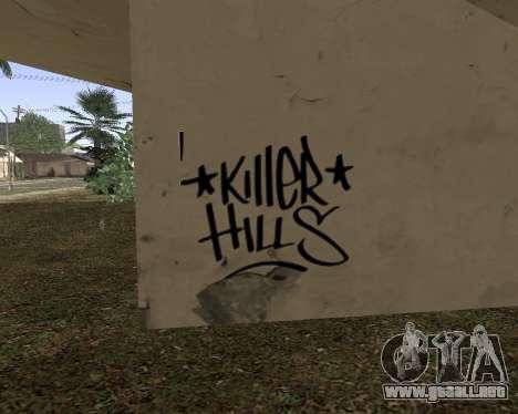 La textura de Los Santos de GTA 5 para GTA San Andreas sucesivamente de pantalla