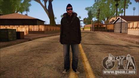 GTA 5 Online Skin 10 para GTA San Andreas