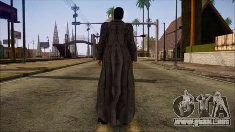 Neo Matrix Skin para GTA San Andreas segunda pantalla