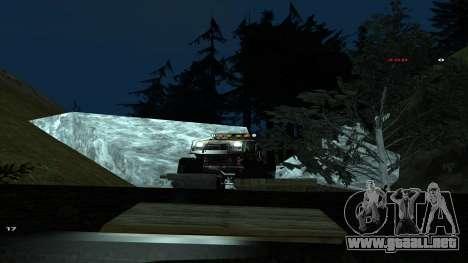 Трасса Offroad v1.1 por Rappar313 para GTA San Andreas twelth pantalla