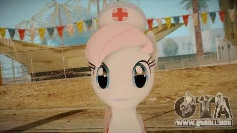 Nurseredheart from My Little Pony para GTA San Andreas tercera pantalla