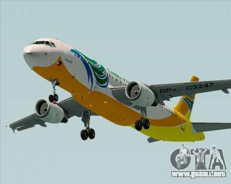 Airbus A320-200 Cebu Pacific Air para el motor de GTA San Andreas