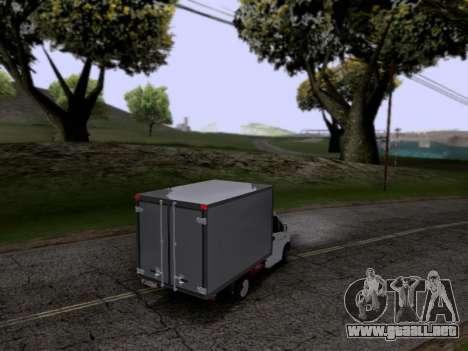 Gacela De La Siguiente para la visión correcta GTA San Andreas