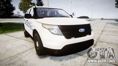 Ford Explorer 2013 [ELS] Liberty County Sheriff para GTA 4