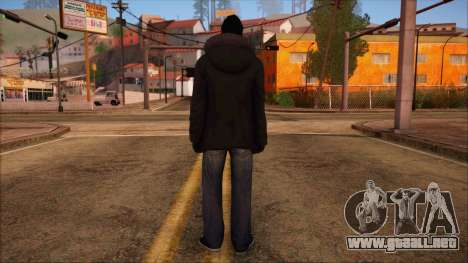 GTA 5 Online Skin 10 para GTA San Andreas segunda pantalla