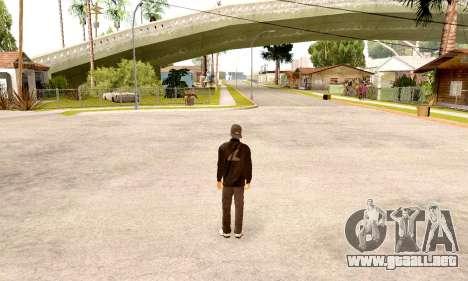 Varios Los Aztecas Gang Skin pack para GTA San Andreas segunda pantalla