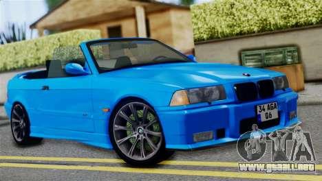 BMW M3 E36 Cabrio para GTA San Andreas