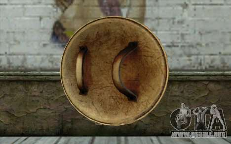 DeadPool Shield v1 para GTA San Andreas segunda pantalla