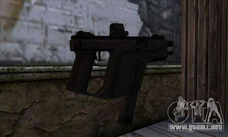 Tec9 from State of Decay para GTA San Andreas segunda pantalla
