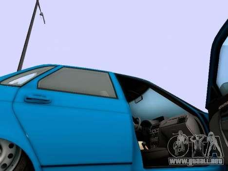VAZ 2170 para vista lateral GTA San Andreas