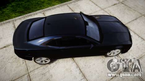 Chevrolet Camaro SS [ELS] Unmarked interceptors para GTA 4 visión correcta