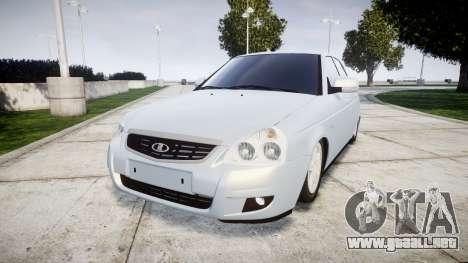 ВАЗ-Lada 2170 Priora de la Bombilla para GTA 4