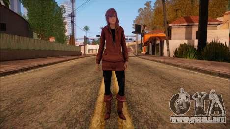 Modern Woman Skin 10 v2 para GTA San Andreas