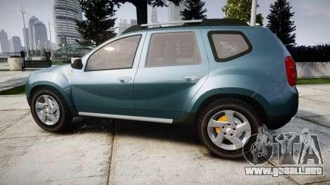Dacia Duster 2013 para GTA 4 left