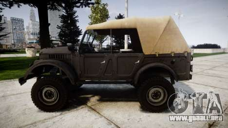 GAZ-69 para GTA 4 left