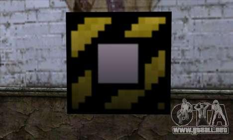 Bloque (Minecraft) v4 para GTA San Andreas
