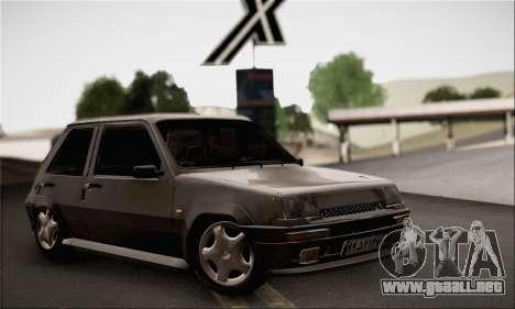 Renault 5 para GTA San Andreas