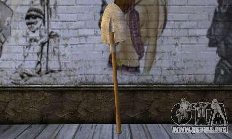 New Shovel para GTA San Andreas segunda pantalla