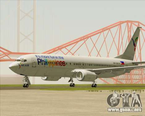 Boeing 737-800 South East Asian Airlines (SEAIR) para GTA San Andreas left
