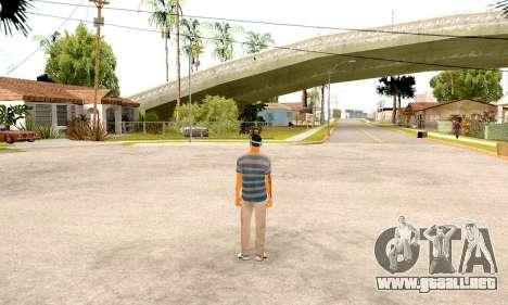Varios Los Aztecas Gang Skin pack para GTA San Andreas sucesivamente de pantalla