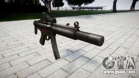Pistola de MP5SD EOTHS CS para GTA 4