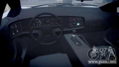 Jaguar XJ220 1992 [EPM] para GTA 4 vista hacia atrás