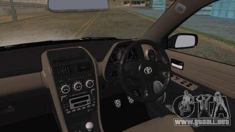 Toyota Altezza (RS200) 2004 (HQLM) para GTA San Andreas vista posterior izquierda