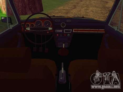 VAZ 2106 GAI para la visión correcta GTA San Andreas