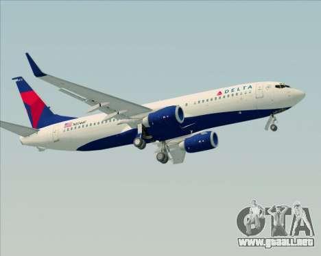 Boeing 737-800 Delta Airlines para el motor de GTA San Andreas
