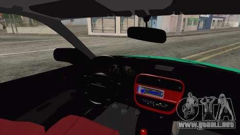 Honda Civic HB para GTA San Andreas vista posterior izquierda