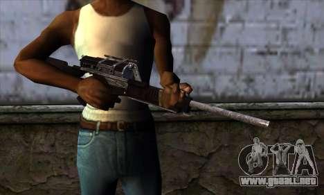 Calico M951S from Warface v2 para GTA San Andreas tercera pantalla