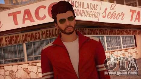 GTA 5 Online Skin 13 para GTA San Andreas tercera pantalla