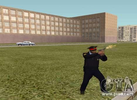 El sargento de la policía para GTA San Andreas segunda pantalla