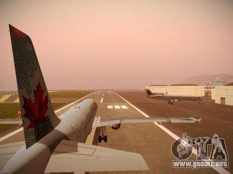 Airbus A320-214 Air Canada para el motor de GTA San Andreas