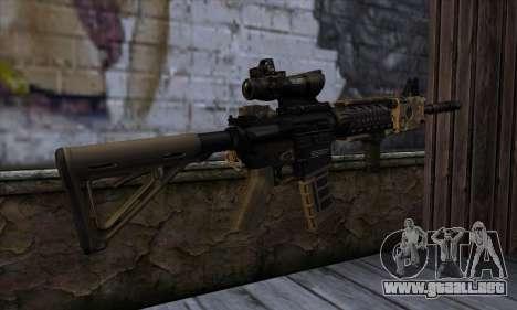 AR15 bushmaster para GTA San Andreas segunda pantalla