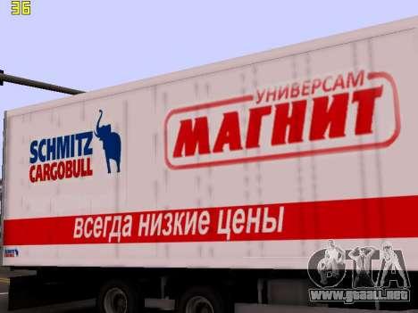 Trailer Magnit para GTA San Andreas vista hacia atrás