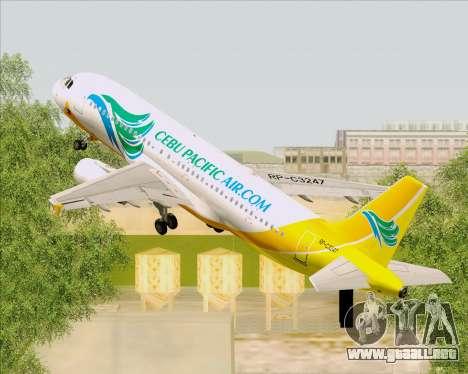 Airbus A320-200 Cebu Pacific Air para GTA San Andreas