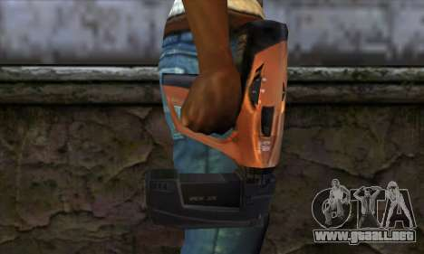 Nailgun from Manhunt para GTA San Andreas tercera pantalla