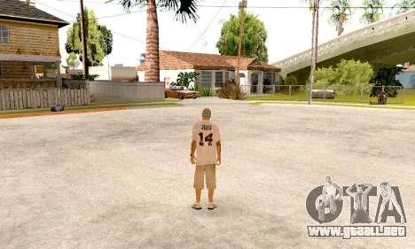 Varios Los Aztecas Gang Skin pack para GTA San Andreas sexta pantalla
