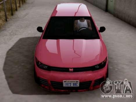 GTA 5 Blista para la visión correcta GTA San Andreas