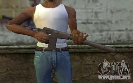 AU VAL (Battlefield 3) para GTA San Andreas tercera pantalla
