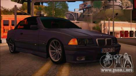 BMW M3 E36 Cabrio 34 DAT 29 para GTA San Andreas